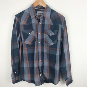 Levi plaid long sleeve shirt